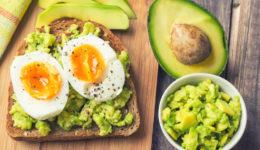 healthy breakfasts avocado egg toast